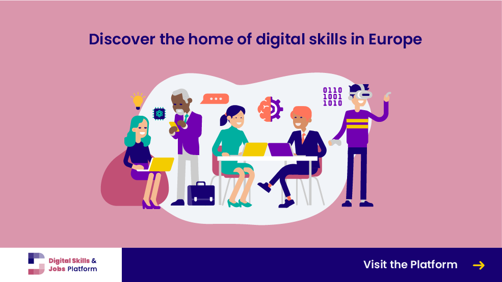 Start of the Digital Skills and Jobs Platform, the new home of digital skills in Europe